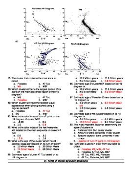 Astronomy Exam, Midterm Test