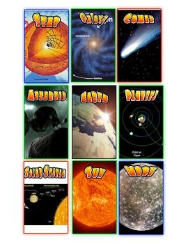 Astronomy Flashcards Activitiy (PDF)