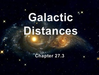 Astronomy: Galactic Distances