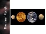 Astronomy - Inner Planets (terrestrials); Mercury, Venus, Earth, Mars (PPT)