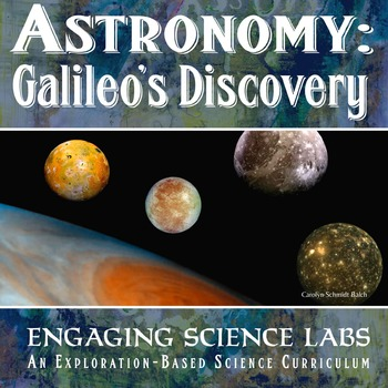 Astronomy: Galileo's Historic Discovery of Jupiter's Moons, an Interactive Model