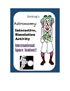 Astronomy International Space Station INTERACTIVE Simulation Online Activity!