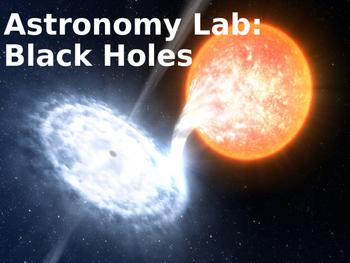 Astronomy Lab Activity: Black Holes