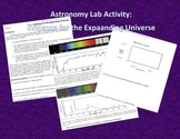 Astronomy Lab Activity: Evidence for the Expansion of the