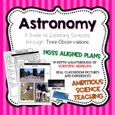 Astronomy: Learning About Seasons with Trees NGSS Aligned