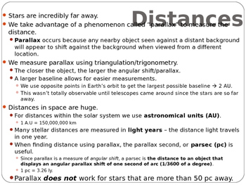 Astronomy Lecture Notes: The Properties of Stars