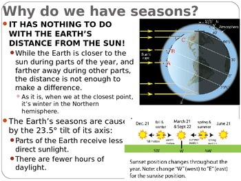 """Astronomy Lecture Notes: """"The Sun, Earth, Moon System"""""""