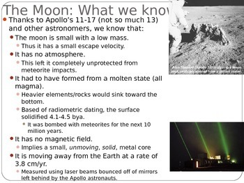 "Astronomy Lecture Notes: ""The Sun and the Moon"""
