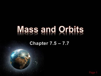 Astronomy: The Physics of Mass and Orbits
