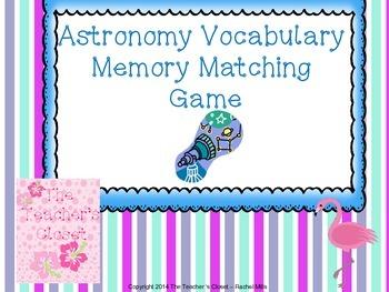 Astronomy Memory Game