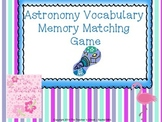 Astronomy Memory Game