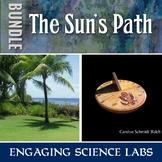 Astronomy: Model the Sun's Path—make a Classroom Sundial—Mini BUNDLE