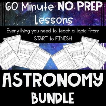 Astronomy NO PREP Lessons BUNDLE