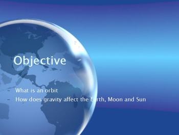 Astronomy - Orbits w/worksheet (SMART BOARD)