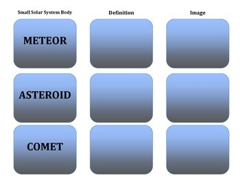Astronomy: Outer Space - Meteors, Asteroids, and Comets