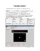 Astronomy PC Activities