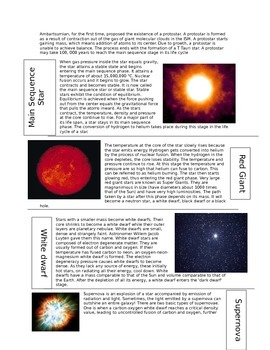 Astronomy Packet