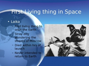 Astronomy - People in Space (POWERPOINT)