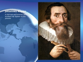 Astronomy - Planetary Motion (Kepler's Laws) (POWERPOINT)