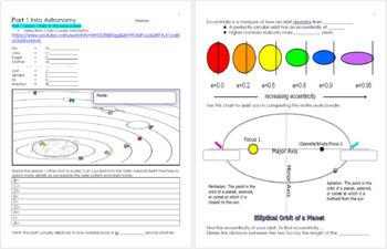 Astronomy Unit Homework