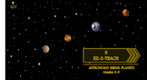 Astronomy- Planets ( project based learning grades 3-5)