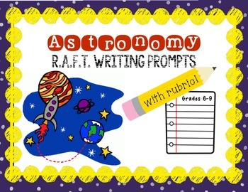 Astronomy R.A.F.T. Writing Prompts