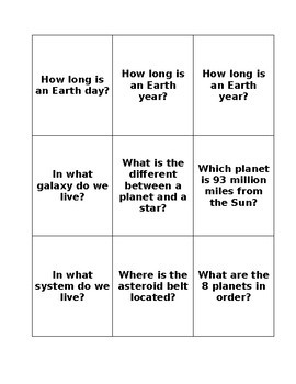 Astronomy Review Flashcards