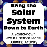 Solar System Project: Scaled Down Model of Our Solar System Distance Learning