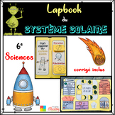 Astronomy/Solar System LAPBOOK - French Science Grade 6 Système Solaire