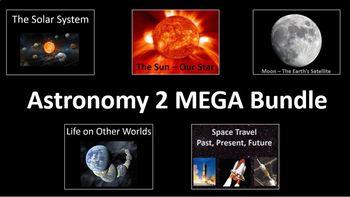 Astronomy (Solar System, Sun and Moon) MEGA Bundle