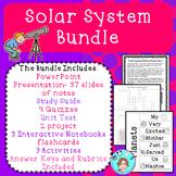 Solar System & Astronomy Unit Bundle – Upper Elementary –