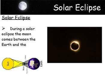 Astronomy - Solar and Lunar Eclipse (POWERPOINT)
