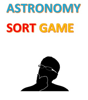 Astronomy Sort Game