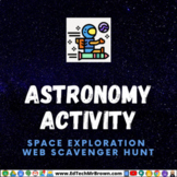 Astronomy Space Exploration Web Scavenger Hunt Google Slid