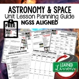 Solar System & Planets Lesson Plan Guide for NGSS Science,