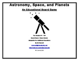 Astronomy, Space, and Planets Board Game