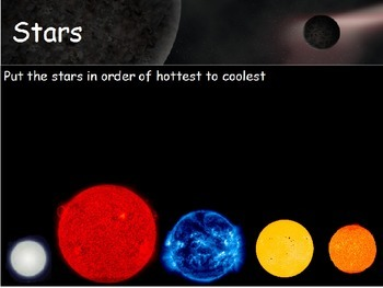 Astronomy - Star Color and Brightness (POWERPOINT)