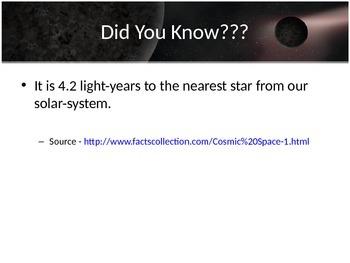 Astronomy - Stars (POWERPOINT)