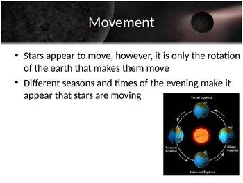 Astronomy - Stars - Stars Intro (POWERPOINT)