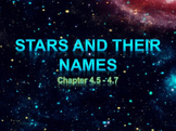 Astronomy: Stars and Their Names