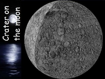 Astronomy - Surface of the Moon w/worksheet (SMART BOARD)