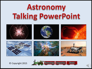 Astronomy Talking PowerPoint & Four Puzzle Pack