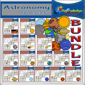 Astronomy Task Card BUNDLE