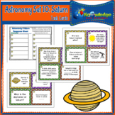 Astronomy Task Cards: Set 10: Saturn