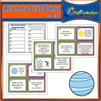 Astronomy Task Cards: Set 11: Uranus