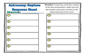 Astronomy Task Cards: Set 12: Neptune