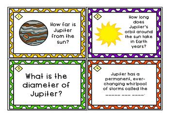 Astronomy Task Cards: Set 9: Jupiter