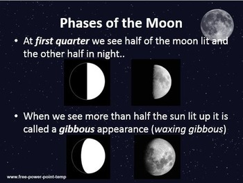 Astronomy: The Earth and Phases of the Moon