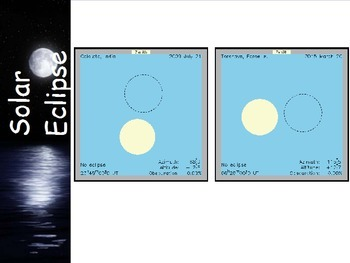 Astronomy - The Moon - Eclipses (Lunar and Solar) -  (POWERPOINT)