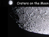 Astronomy - The Moon - Surface of the Moon -  (POWERPOINT)